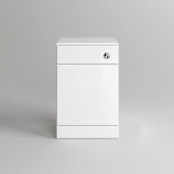 Quartz Gloss White Back To Wall Toilet Unit - Lyon Pan