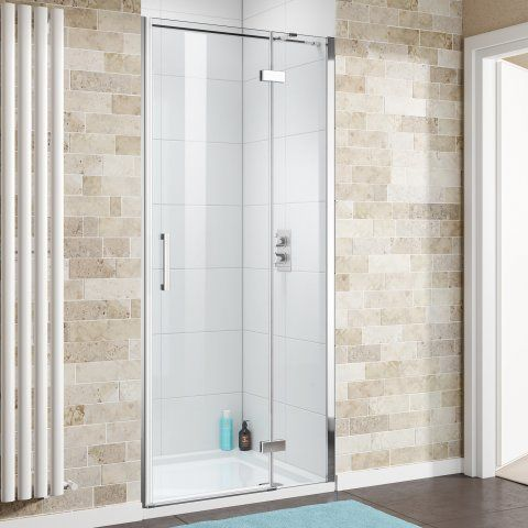 1200mm - 8mm - Premium EasyClean Hinged Shower Door