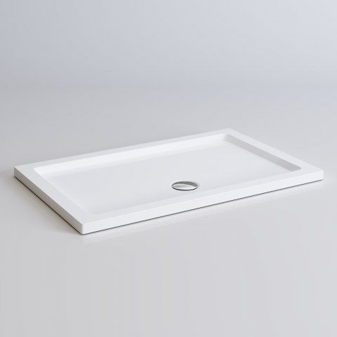 1200x760mm Square Lightweight PU Shower Tray