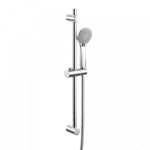 Shower Rail With Multi Function Handheld