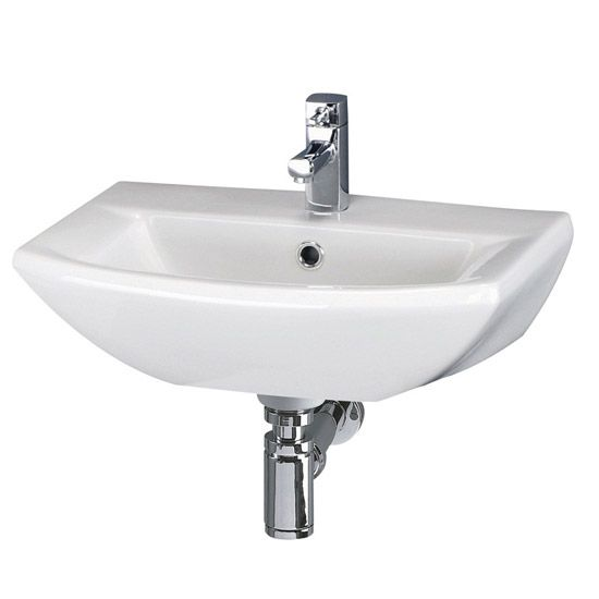 Premier Asselby Wall Hung Cloakroom Basin (500 x 375mm) - NCA204