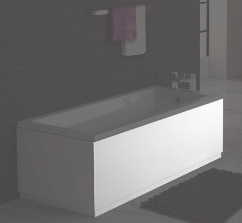 Bath Front Panel 1600x510mm - White