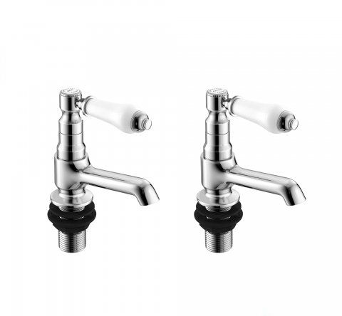 Kingswood Traditional Hot and Cold Bath Taps
