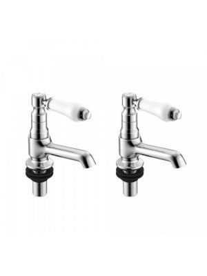 Kingswood Traditional Basin Taps - Hot and Cold