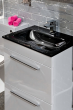 Icon Grey 600mm Free Standing Drawer and basin Unit