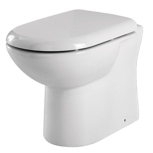 Premier - Back to Wall Toilet with Soft Close Seat